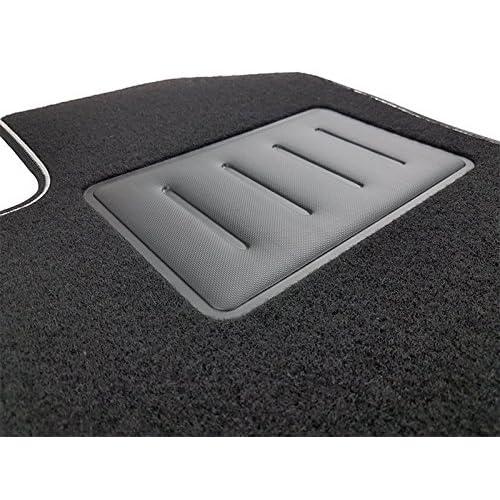 Il Tappeto Auto SPRINT02903 Tapis antidérapants en moquette noire, bord bicolore, protège-talon renforcé en caoutchouc, Classe A (W176) 2012> Classe B (W246) 2011> CLA berlina CLA shooting brake 201 on sale