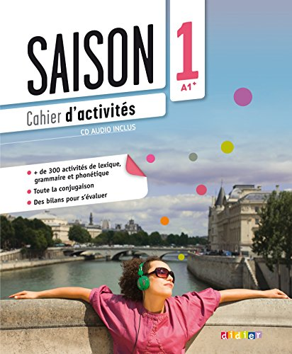 Saison niveau 1 cahier d'activites + CD (French Edition)