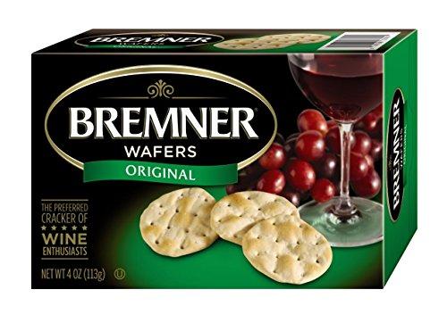 - Bremner Wafers, Original Plain, 4-Ounce Box