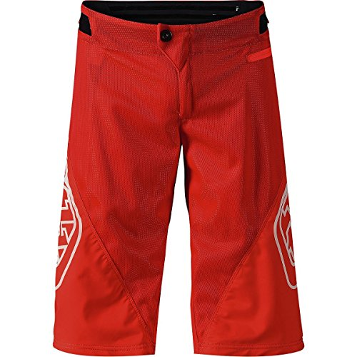 (Troy Lee Designs Sprint Shorts - Boys' Red, 26)