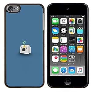 """Be-Star Único Patrón Plástico Duro Fundas Cover Cubre Hard Case Cover Para iPod Touch 6 ( Headshot Leche"""" )"""