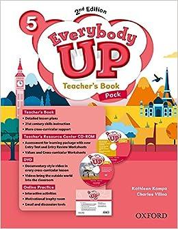 Descargar Desde Utorrent Everybody Up! 5. Teacher's Book W/dvd& Online Practice Pack 2nd Edition Libro PDF