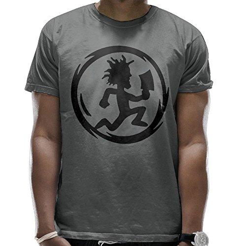 WeiGo T-shirts Men's Hatchet Man Logo Casual T-Shirt Tee Shirt