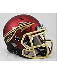 FSU Seminoles Garnet and Black Shell Riddell Speed Mini Football Helmet