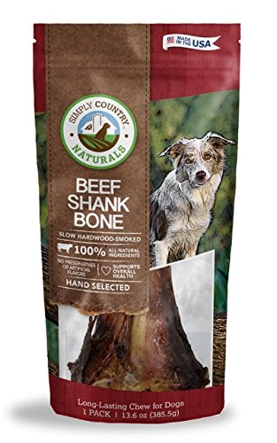 Simply Country Naturals Beef Shank Bone For Dogs, 1-Count