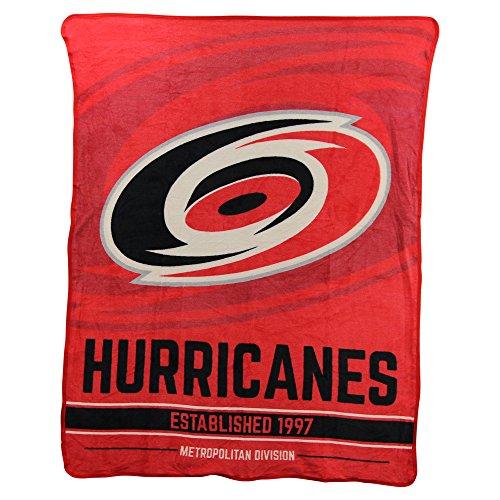 The Northwest Company NHL Breakaway Super Soft Plush Throw Blanket (Carolina Hurricanes)