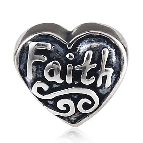 Cross Bible Faith Charm...