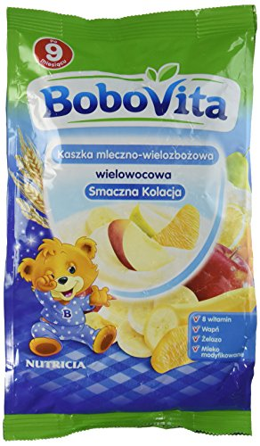 Bobovita Instant Milk Cereal With, Multifruit Flavor (230G /8.1 oz)