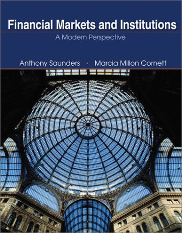 Financial Markets and Institutions: A Modern Perspective (The Mcgraw-Hill/Irwin Series in Finance, Insurance, and Real Estate) Pdf