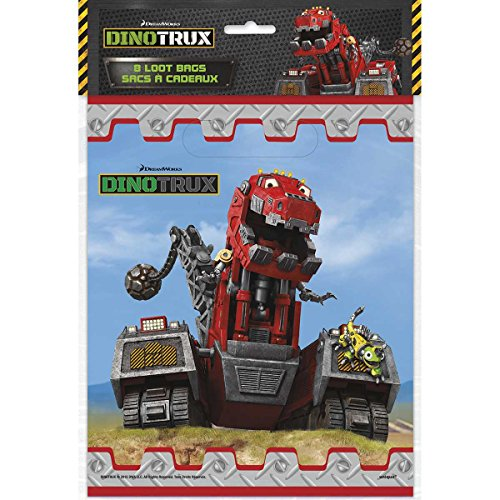 Dinotrux Party Loot Bags