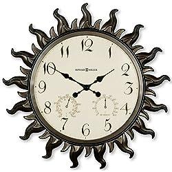 Howard Miller Sunburst Wall Clock
