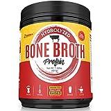 Hydrolysiert Bone Broth Protein Powder - Grass Fed, Pasture Raised | Non-GMO, Paleo Friendly, Gluten Free | Best Value-601 Grams-Great for Weight Management, Digestive System, Healthy Hair & Skin
