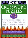 Dell Crosswords, Dell Puzzle Magazine Editors and Dell Magazines Staff, 0440507502