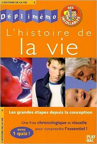 Livre L'histoire de la vie pdf ebook