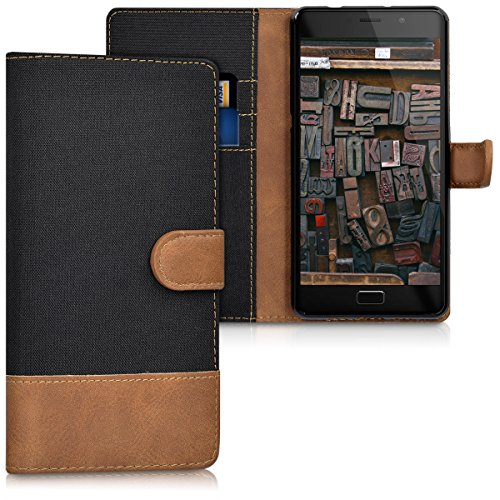 kwmobile Wallet Case for Lenovo P2 - Fabric and PU for sale  Delivered anywhere in USA