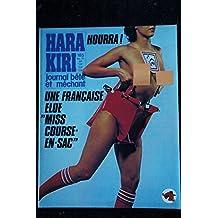 HARA KIRI 185 FEVRIER 1977 CABU PROFESSEUR CHORON COPI WOLINSKI CAVANNA
