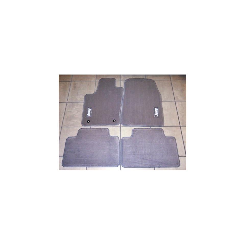 Genuine Jeep Accessories 82212176AB Medium Graystone Carpet Floor Mat