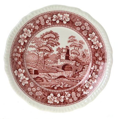 Spode Tower Pink 8-Inch Salad -