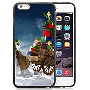 """Hot Sale iPhone 6 Plus 5.5"""" TPU Cover Case ,Gifts For Christmas Black iPhone 6 Plus 5.5"""" TPU Phone Case Unique And Fashion Design"""