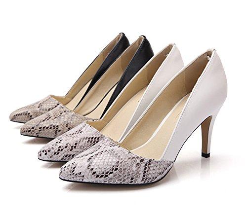 Blanc Femme Escarpins Stilettos Classique Chaussures Ubeauty Enflier wPYqxzwF
