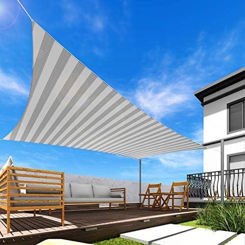 Windscreen4less 5' x 19' Sun Shade Sail Rectangle Canopy