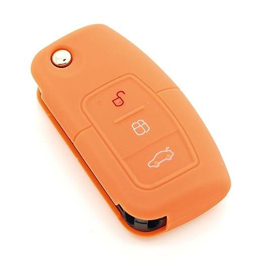 Funda de llave de silicona para Ford Puma/Transit/Scorpio/Focus