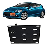 genesis tow hook - JGR No drill Tow Eye Front Bumper Tow Hook License Plate Mount Bracket Holder Adapter Relocation Kit For HONDA CR-Z 2011 2012 2013 2014 2015