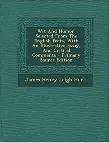 Leigh hunt essays about love