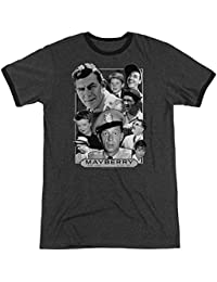 Andy Griffith Mayberry Unisex Adult Ringer T Shirt For Men and Women