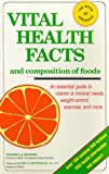 Vital Health Facts and Composition of Foods, Patricia T. Krimmel and Edward A. Krimmel, 0916503062