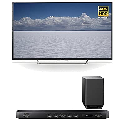 "Sony 55"" BRAVIA XBRX700D Series Smart TV , 4K UHD + HTST9 Sound Bar"