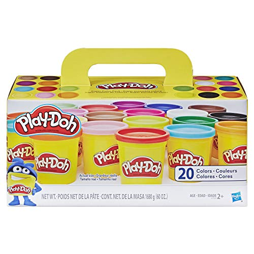 Play-Doh Super Color, 20-Pack, 60 oz (Play Doh Best Price)
