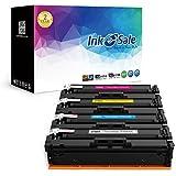 INK E-SALE Toner Compatibili Sostituzione per HP 201X CF400X per funzione con HP Color LaserJet Pro MFP M277DW M252DW M277N M252N M277W M252W (Nero, Ciano, Magenta, Giallo)