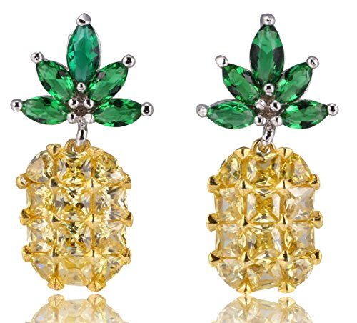 (MISASHA Gold Tone Classic Camellia Floral Earrings Studs)