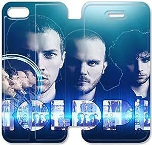 Elegant Printing Coldplay-11 iPhone 4 4S Leather Flip Case