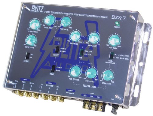 Blitz 3-Way Electronic Crossover Network with Subwoofer Level Control -