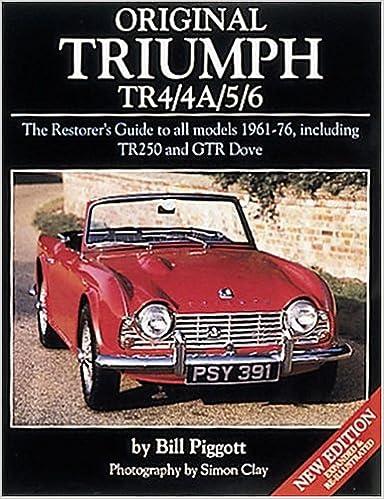 Amazonfr Original Triumph Tr44a56 Bill Piggott Simon Clay