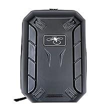 Onebird 3rd Waterproof Hard Shell Carrying Case Backpack Shoulder Bag for DJI Phantom 4 3 Advance/Professional Carbon Fibre