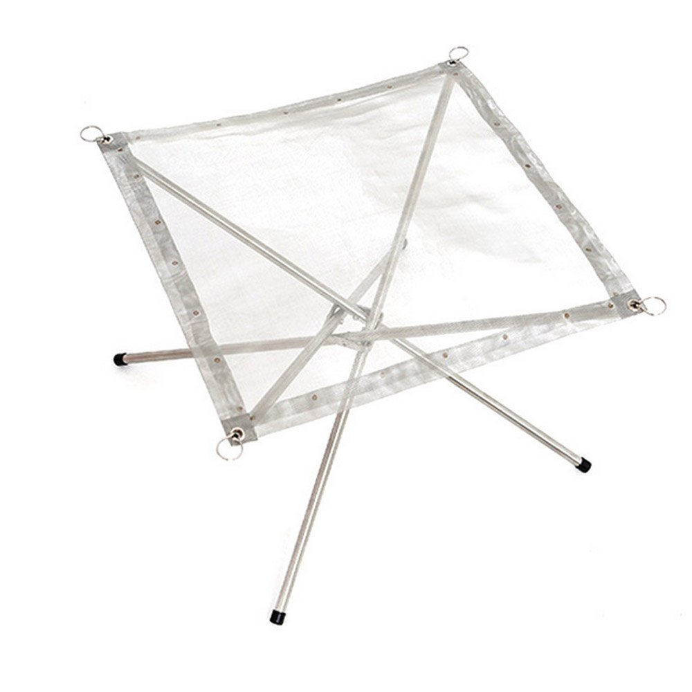 Portable Outdoor Burning Rack Collapsible Stainless Steel