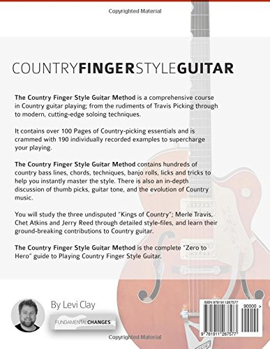 The Country Fingerstyle Guitar Method: A Complete Guide to Travis ...