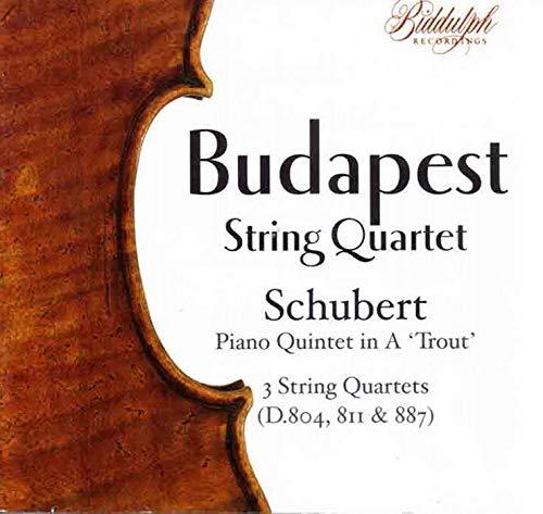 - Budapest String Quartet: Schubert, Piano Quintet in A,