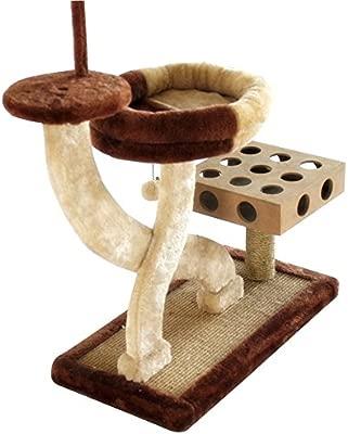 AUMING Árboles de Gato Escalador para Gatos Una Cuerda de ...