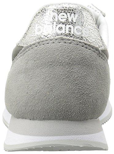 New Balance Damen Wl220 Laufschuhe Grau (Grey/WL220GS)