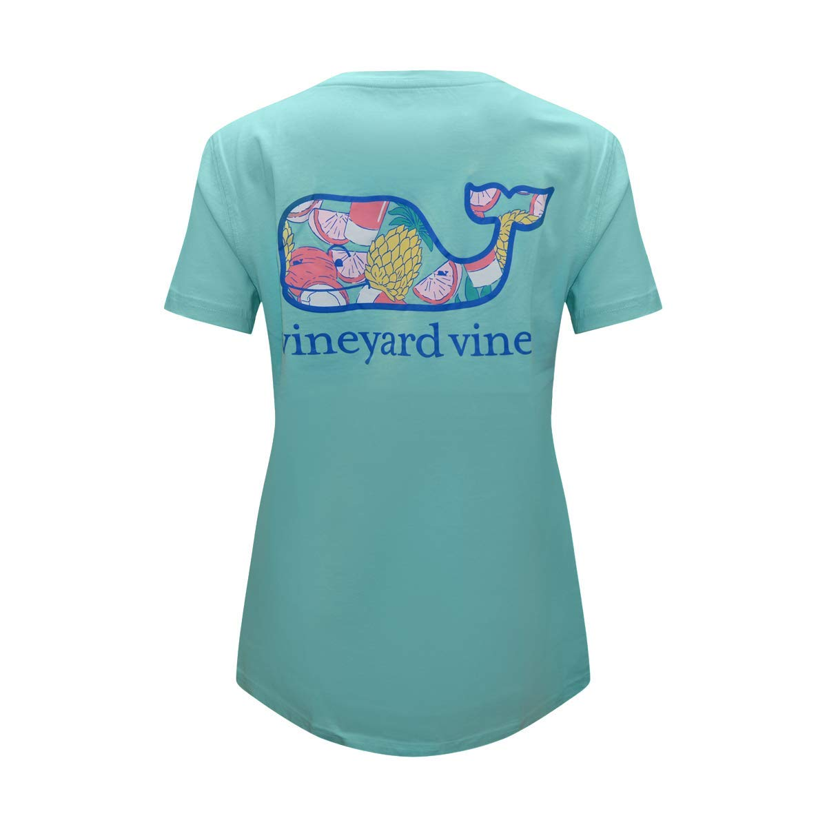 2f3878263 Amazon.com: Vineyard Vines Women's Short Sleeve Graphic Pocket Cotton  T-Shirt: Clothing