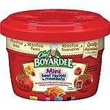Chef Boyardee Mini Micro Beef Ravioli, 7.5 oz, 12 Pack