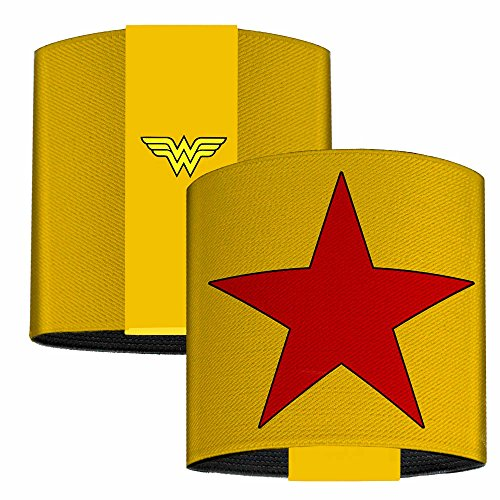 DC Comics Elastic Wrist Cuff Bracelet - Wonder Woman Star (Pop Culture Icon Costumes)