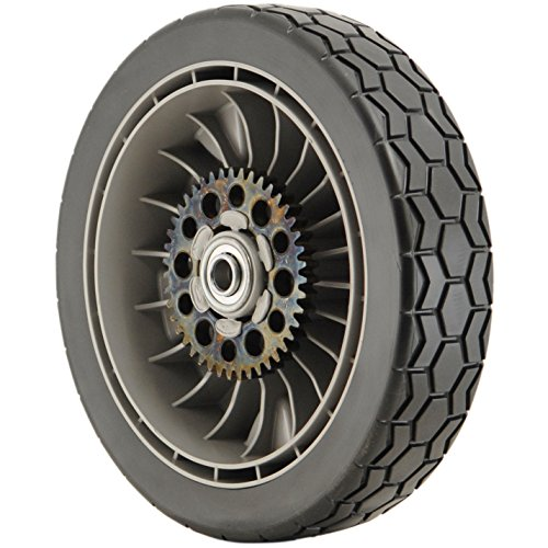 "Honda 42710-VH7-010ZA Gray 9"" Lawn Mower Rear Wheel"
