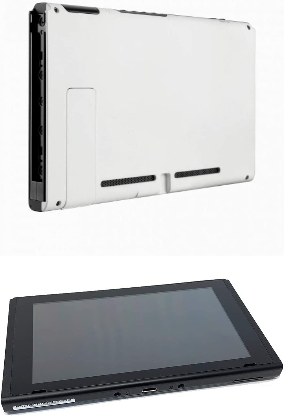 Soft Touch White Custom Console for Nintendo Switch Tablet Only