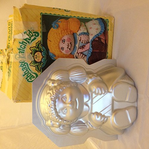 Wilton 3D Stand-Up Cabbage Patch Kids Doll Cake Pan Set 2105-1988, 1984