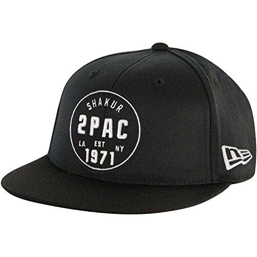 [해외] 남자의 올드 스쿨 스냅백 야구 모자 블랙/Tupac Men`s Old School Snapback Baseball Cap Black